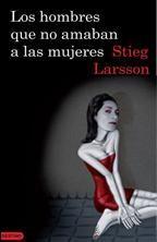 #Libro los hombres que no amaban a las mujeres de larsson stieg