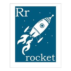 Use as part of set of three letters spelling out b's initials? Over crib in rocket ship nursery room?