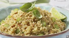 Pilaf de riz brun aux pignons grillés: ingrédients, préparation, trucs, information nutritionnelle
