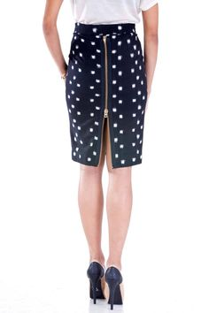 Shoptiques — Black Zip Skirt- meeeyaw!!!