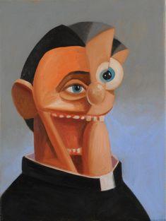 George Condo, The Priest, 2007