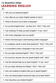Learning English - All Things Topics English Teaching Materials, Teaching English Grammar, English Grammar Worksheets, English Writing Skills, English Language Learning, English Lessons, English Vocabulary, English Topics For Speaking, French Lessons