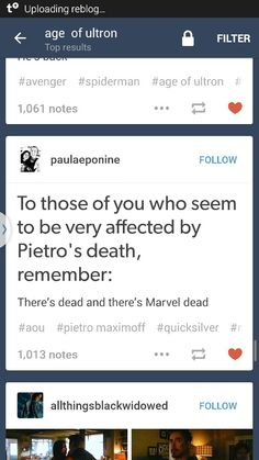 Dead and Marvel dead *breathes heavily into a paper bag of denial until he comes back*
