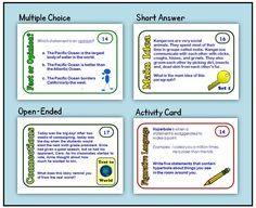 "Totally Task Cards! Website about different types of task cards and how to use them. Check out the ""Try it Free"" tab for some great freebies!"