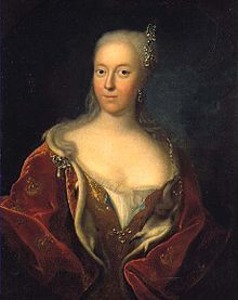 Anne Sophie Reventlow - Mistress and second wife of Frederick IV of Denmark. They married in even though his queen was still alive. They remarried in 1721 after the queen had died. They had three children, who all died young.