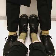 Matching Doc's and Socks: The 1461 shoe, shared by maaasaya_.