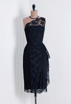 50's vintage lace dress