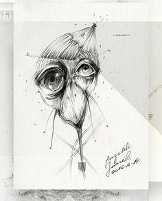 "32 Likes, 1 Comments - Eglė Uleckienė (@egleillustration) on Instagram: ""Daily Sketch Challenge*42-Flora. #illustrationartists #illustration #sketch #sketch_daily…"""