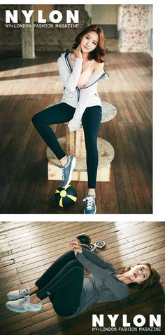 Han Groo is sporty and fit in 'Skechers' for 'Nylon' magazine   allkpop.com