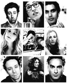 Great portraits of these guys! Loved seing them out of the nerd role. #BW #bigbangtheory