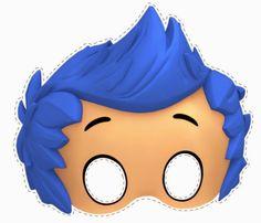 Máscaras de los Bubble Guppies para Imprimir Gratis.                                                                                                                                                                                 Más