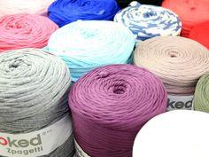 DMC Hoooked Zpagetti Knitting & Crochet Yarn - Full Colour Range Preview