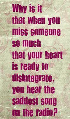 i am missing someone...