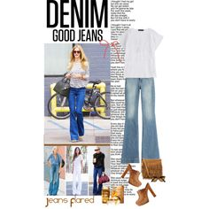 Flared Jeans by alves-nogueira on Polyvore featuring polyvore, fashion, style, Antik Batik, J Brand, Dsquared2, Polo Ralph Lauren, Ray-Ban, Kerastase and flarejeans