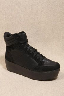 Black Scooter Trainers