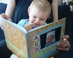 DOING -- using Blurb.com   Petey enjoys his custom-designed 'ABCs of Petey' alphabet book