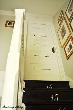 Hometalk :: Decorate Your Door! (Master Bedroom Door Makeover)
