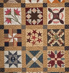Civil War era quilt is pieced from all cotton fabrics in a combination of The quilting is hand done in a Methodist Fan pattern. Description from pattsme.com. I searched for this on bing.com/images