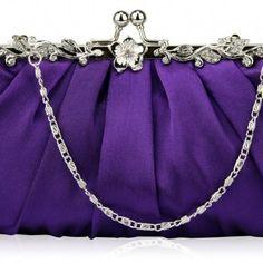 Satin-purple-ab-350x350_large Shades Of Purple, Red Purple, Feel Fat, Purple Bags, All Things Purple, Fabulous Fabrics, Red Hats, Womens Purses, Violet