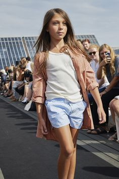 Some beautiful shots today taken by Anders Hald on the unconventional kids catwalk fashion show from the CIFF Kids trade fair in Copenhagen for spring 2015