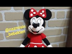 minni mause 45 cm 1. Bölüm ayak tarifi.. #minnimause​ - YouTube Mini Mickey, Miki Mouse, Crochet Diagram, Baby Knitting, Diy And Crafts, Barbie, Toys, Disney Characters, Animals