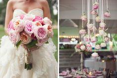 Sonntagshäppchen: mal ne schöne Rosendeko am Hochzeitstisch | Hochzeitsblog Fräulein K. Sagt Ja
