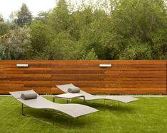 Sichtschutz Zaun oder Gartenmauer - 102 Ideen für Gartengestaltung ...