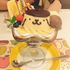 Cute Desserts, Delicious Desserts, Yummy Food, Kawaii Dessert, Soft Foods, Japanese Snacks, Cafe Food, Mellow Yellow, Aesthetic Food