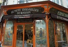 Quartier du Marais, Paris.