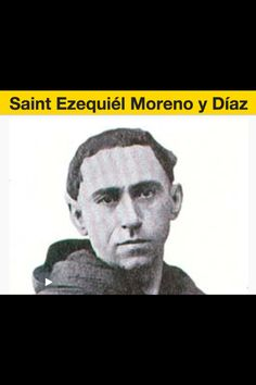 St. Ezequiel Moreno y Díaz, aka Ezekiel Moreno y Diaz was a member of the Order of Augustinian Recollects. He was born on 9 April 1848 in Alfaro, La Rioja, Spain and later on served as a missionary to the Philippines. He also became the Bishop of Pinara and later of Pasto, both in Colombia. His brother Julián Moreno, OAR is also venerated as a Blessed because of his martyrdom in Motril. He is invoked as the Patron of Cancer Patients.