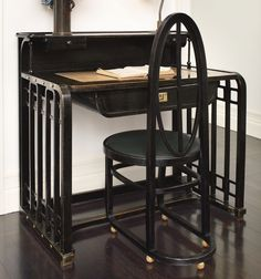 Josef Hoffmann desk at Sotheby's