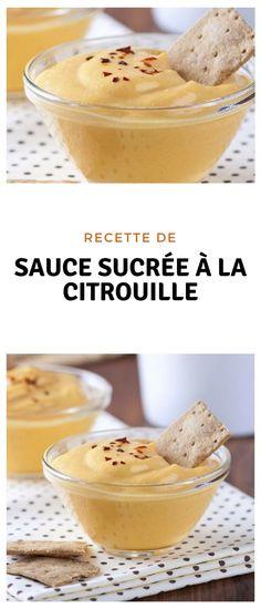 #sauce #sucré #citrouille Pumpkin Recipes, Sauces, Pudding, Breakfast, Desserts, Food, Sweet Sauce, Slow Cooker, Morning Coffee