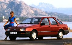 Ford Sierra - another one for my 4th car. This was the best so far.