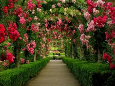 Butchart Gardens - Brentwood Bay, British Columbia, Canada, located near Victoria on Vancouver Island.