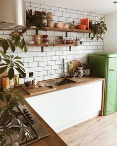@emilyjanelathan: Happy sunday spent the day doing v little other than I cleaned the kitchen and took photographic evidence ✔️ really want a rug for the kitchen that I won't trip over and can also can survive three manky dogs (i.e. must be heavily patterned and/or mud coloured) - any recommendations? #smallkitchen #kitchenideas #woodenkitchen #gorenje