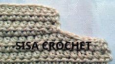 Como disminuir una sisa en tejido crochet tutorial paso a paso.