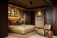 Hawaiian Home Design: Klassische Wärme von Willman Interiors Gold Bedroom, Dream Bedroom, Home Decor Bedroom, Bedroom Ideas, Bedroom Alcove, Bedroom Inspiration, Bedroom Furniture, Home Design, Interior Design