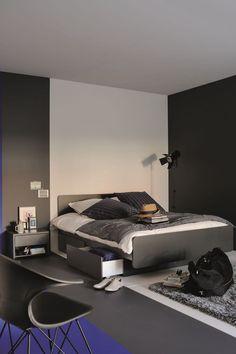 Monochromes, les tiroirs se fondent dans le décor