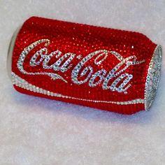 Swarovski Classic Coke Coca Cola Can Coca Cola Vintage, Coca Cola Can, Always Coca Cola, Coca Cola Bottles, Coke Cans, Pepsi, Coca Cola Wallpaper, Swarovski, Butterfly Gifts