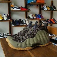 e1b6cf27e803a 57 Best Air Foamposite One men shoes size images