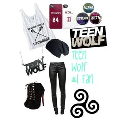 """If u love teen wolf, then this is the outfit for u"" by flaca129 on Polyvore"