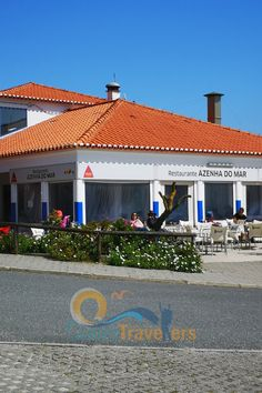 A view of the restaurant Azenha do Mar on our Portugal road trip Azenhas Do Mar, Day Trips From Lisbon, Portugal Travel, Algarve, Plan Your Trip, Cabo, Where To Go, Cool Places To Visit, Road Trip