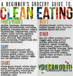 Clean Eating facebook.com/getfiercefitness