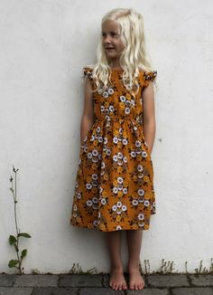 Vintage Geranium Dress