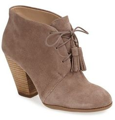 Sole Society 'Tallie' Lace-Up Bootie (Women) on shopstyle.com