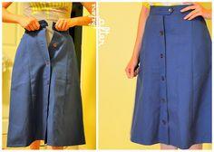 Una manera de hacer una falda grande