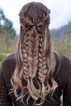 How to Create the Best Fishtail Braids on Pinterest | Mixed Braids