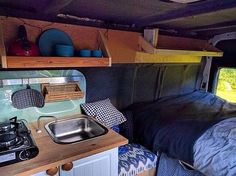 99 Awesome Camper Van Conversions That'll Make You Inspired (11)