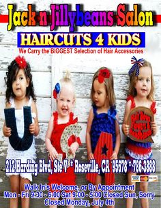 We Carry The BIGGEST Selection of Hair Accessories.  Including 4th of July Bows!