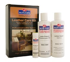 Amazon.com: Mohawk Finishing Products Leather Care Kit (1 Kit): Health & Personal Care